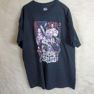 Suicide Squad Harley Quinn Graphic TShirt XL Black